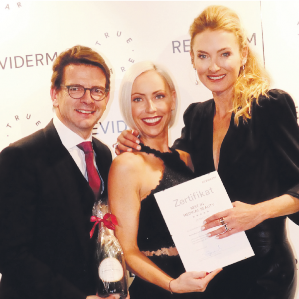 "Presseartikel: Verdienter Preis: ""Best in Medical Beauty 2018"""