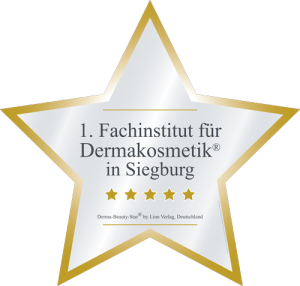 Zertifikat Fachinstitut für Dermakosmetik Stern