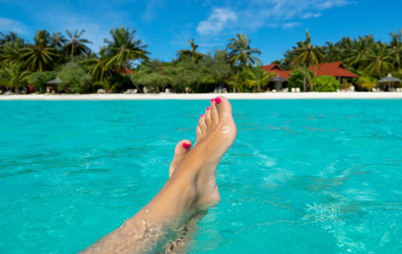 Professionelle Pediküre - Schöne Füße