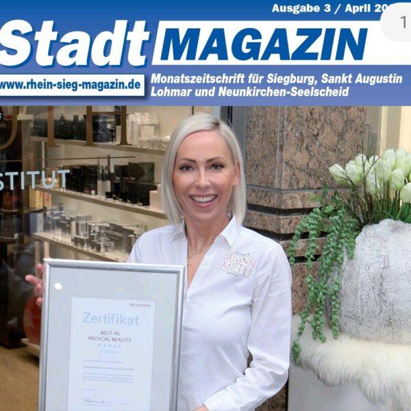 Stadtmagazin berichtet über Auszeichnung
