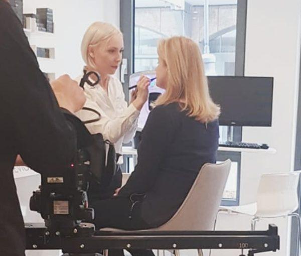Ein aufregender Tag: Videodreh im Kosmetikinstitut