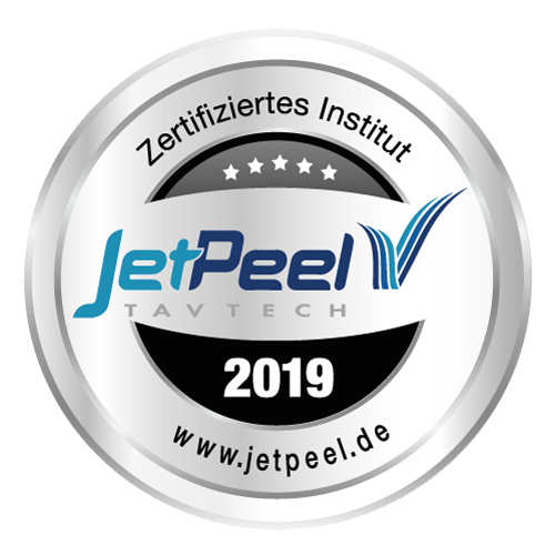 Wieder ausgezeichnet: Zertifiziertes Institut JetPeel 2019